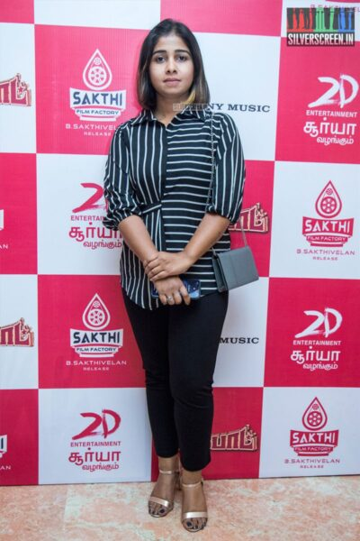 Celebrities At The 'Jackpot' Audio Launch