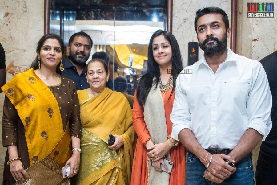 Suriya, Jyothika At The 'Jackpot' Audio Launch