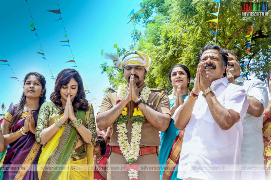 Taana Movie Stills Starring Vaibhav, Nandita Swetha