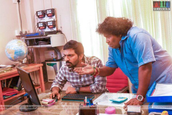 Taana Movie Stills Starring Yogi Babu