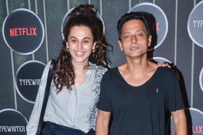Taapsee Pannu At The 'Typewriter' Premiere