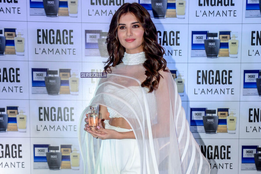 Tara Sutaria At The ITC Engage L'amante Perfume Launch