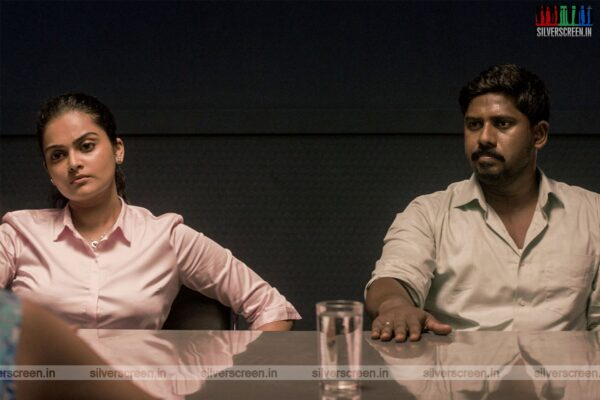 V1 Movie Stills Starring Vishnu Priya, Ram Arun Castro