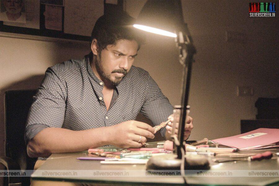 V1 Movie Stills Starring Vishnu Priya, Ram Arun Castro