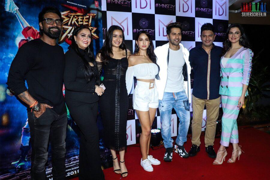 Varun Dhawan, Shraddha Kapoor At The 'Street Dancer 3' Wrap Up Party