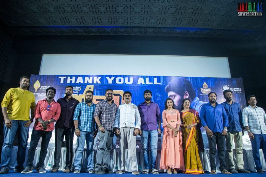 Celebrities At The 'Jiivi' Success Meet