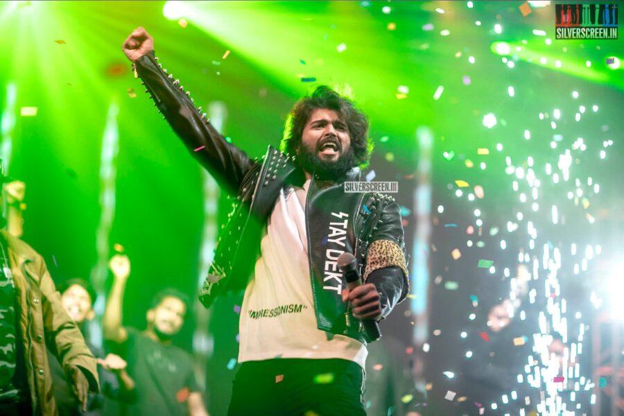 Vijay Deverakonda At The 'Dear Comrade' Music Festival