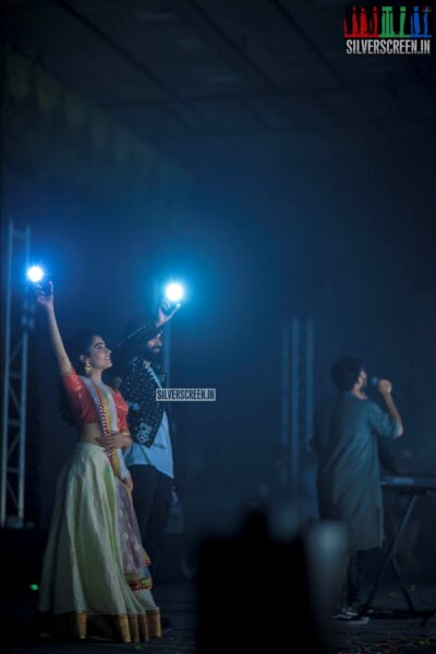 Vijay Deverakonda, Rashmika Mandana At The 'Dear Comrade' Music Festival