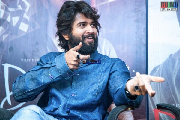 Vijay Deverakonda At The 'Dear Comrade' Press Meet