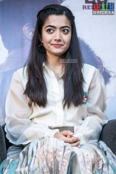 Rashmika Mandanna At The 'Dear Comrade' Press Meet