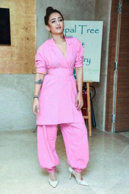 Akshara Haasan At The 'Mister KK' Pre Release Event