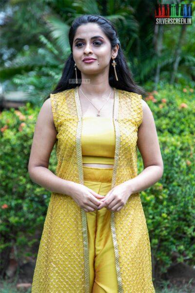 Arthana Binu At The 'Vennila Kabaddi Kuzhu 2' Press Meet