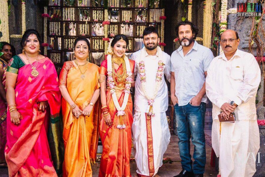 Vikram At The Anand Shankar-Divyanka Wedding