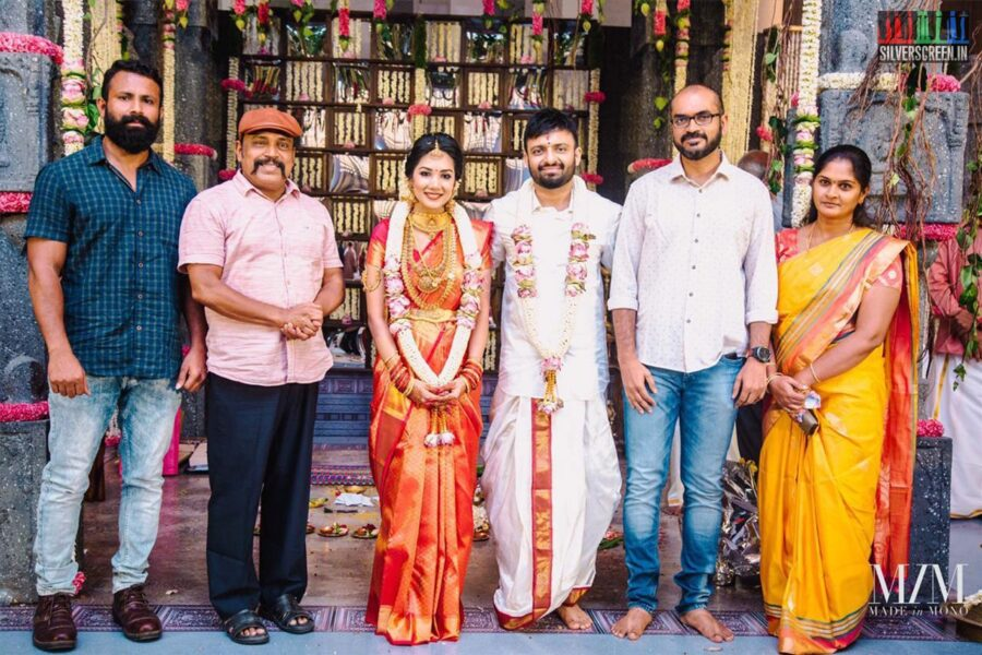 Thambi Ramaiah At The Anand Shankar-Divyanka Wedding