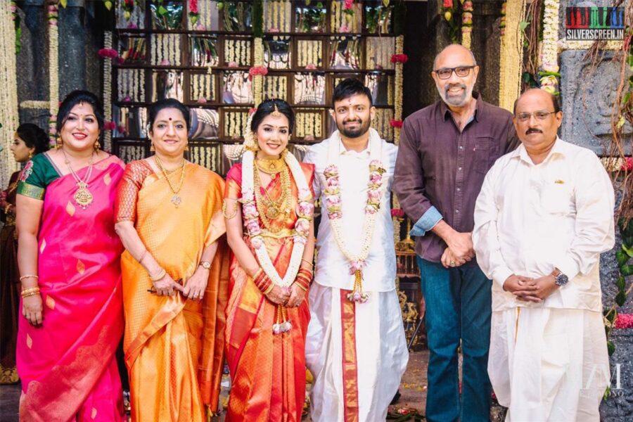 Sathyaraj At The Anand Shankar-Divyanka Wedding