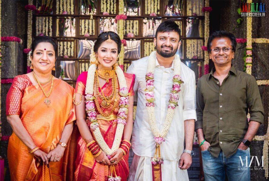 AR Murugadoss At The Anand Shankar-Divyanka Wedding