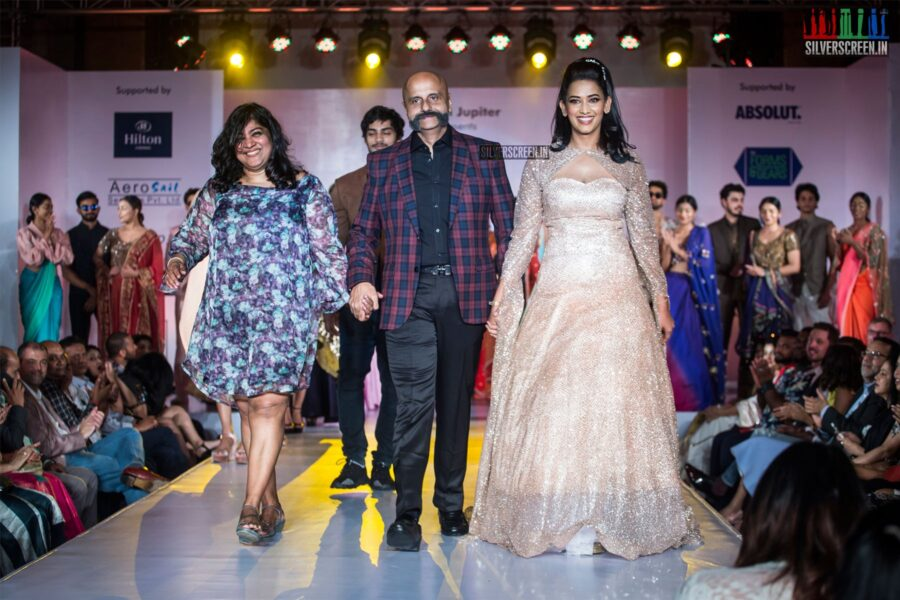 Sanjana Singh At The Madras Couture Fashion Week Season 6-Day 2