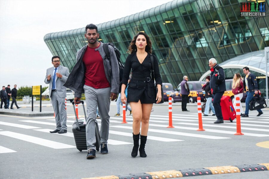 Action Movie Stills Starring Vishal, Tamannaah
