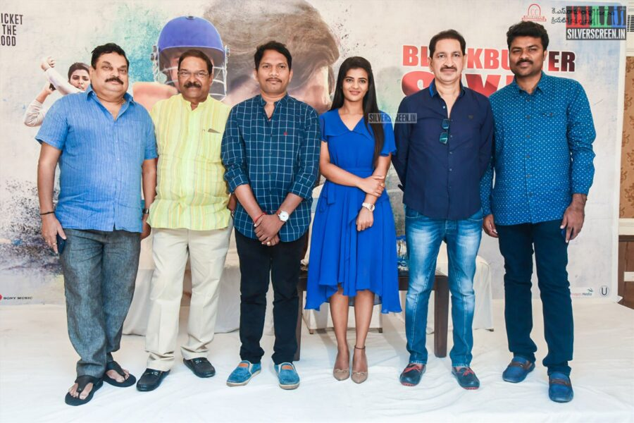 Aishwarya Rajesh At The 'Kousalya Krishnamurthy' Success Meet