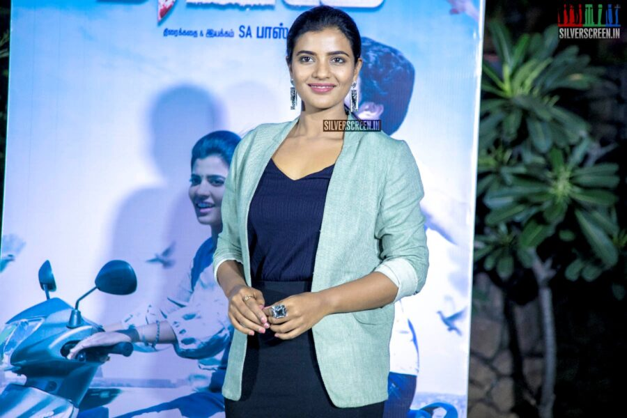 Aishwarya Rajesh At The 'Mei' Press Meet