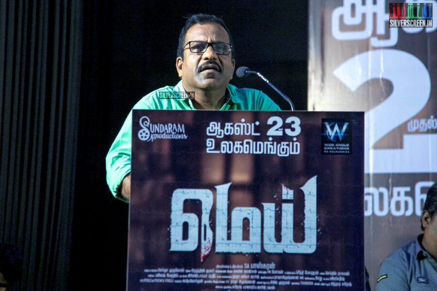 Charlie At The 'Mei' Press Meet