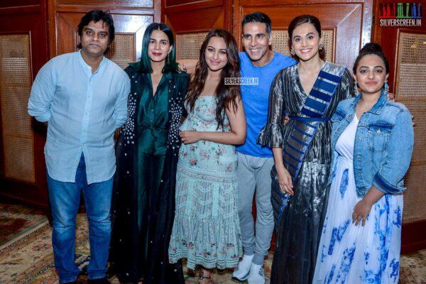 Akshay Kumar, Sonakshi Sinha, Taapsee, Nithya Menen Promote 'Mission Mangal'