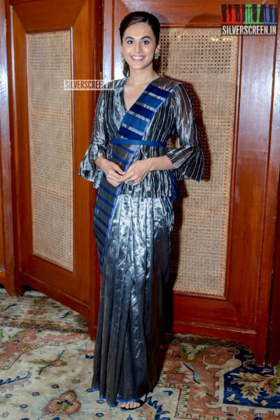 Taapsee Pannu Promotes 'Mission Mangal'
