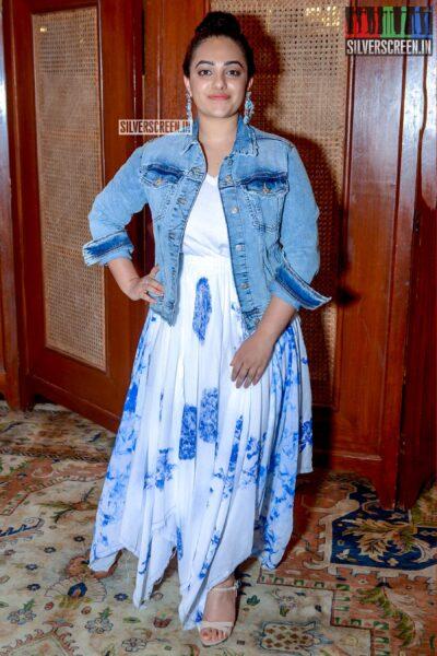 Nithya Menen Promotes 'Mission Mangal'