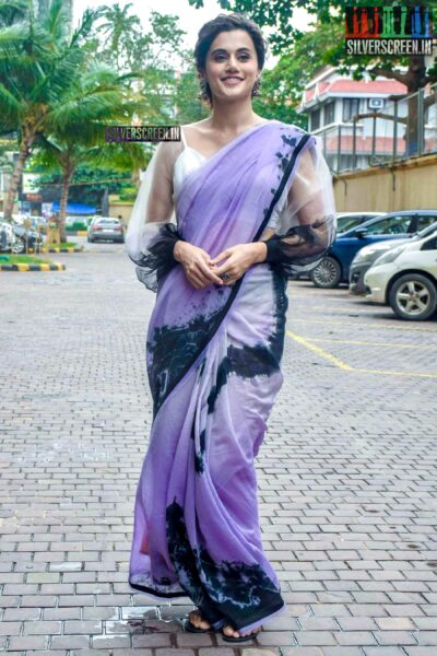 Taapsee Promotes 'Mission Mangal'