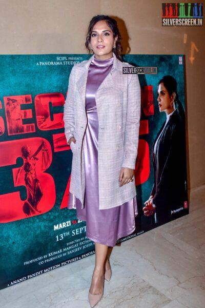 Richa Chadda At The 'Section 375' Trailer Launch