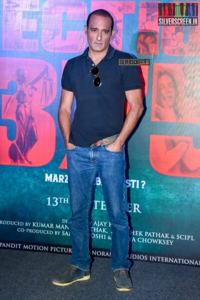 Akshaye Khanna At The 'Section 375' Trailer Launch