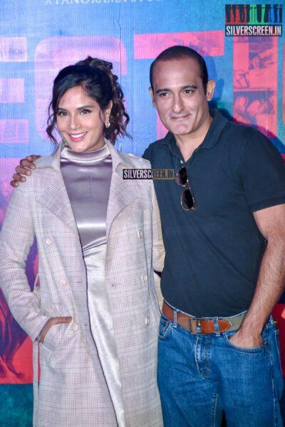 Akshaye Khanna, Richa Chadda At The 'Section 375' Trailer Launch