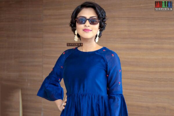 Amala Paul At The 'Rakshasudu' Success Meet