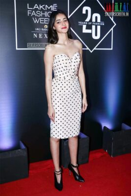 Ananya Panday At The Lakme Fashion Week Press Meet