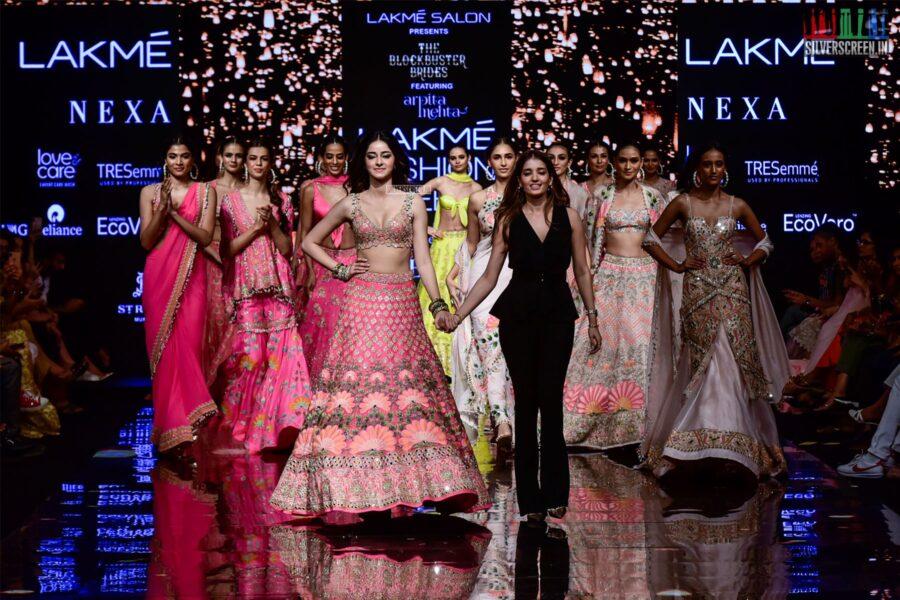 Ananya Panday Walks The Ramp For Arpita Mehta At The Lakme Fashion Week 2019 - Day 4