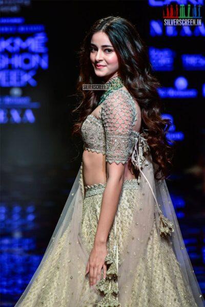 Ananya Panday Walks The Ramp For Anushree Reddy At The Lakme Fashion Week 2019 - Day 4