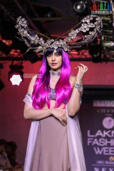 Adah Sharma Walks The Ramp For Pinkey Agarwal At The Lakme Fashion Week 2019 - Day 4