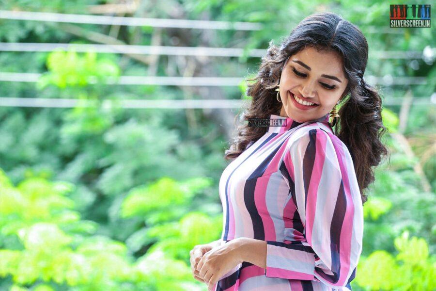 Anupama Parameswaran Promotes 'Rakshasudu'