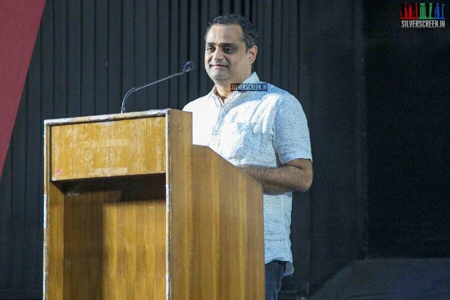 Celebrities At The 'Kurukshethram' Press Meet