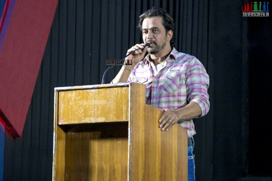 Arjun At The 'Kurukshethram' Press Meet