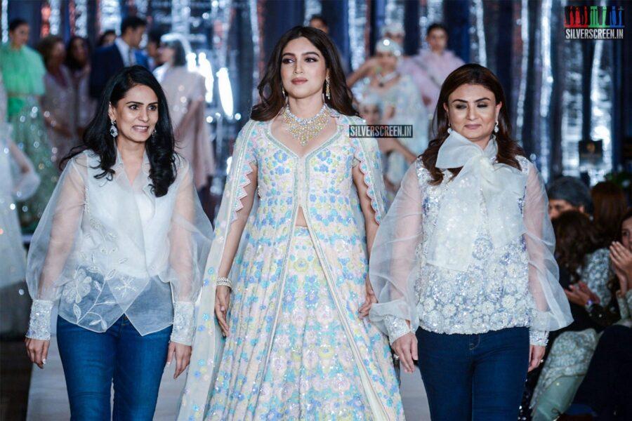 Bhumi Pednekar Walks The Ramp For Dabiri Couture