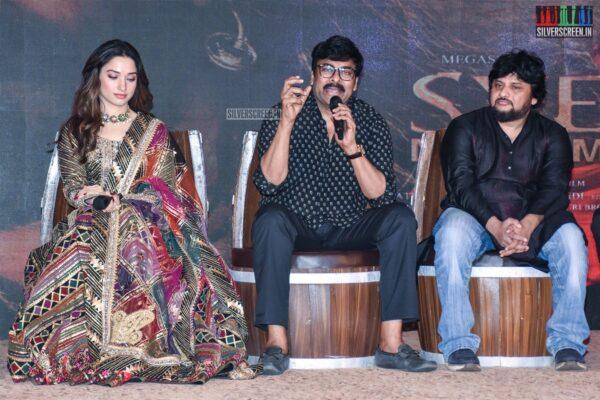 Chiranjeevi, Tamannaah At The 'Sye Raa Narasimha Reddy' Teaser Launch