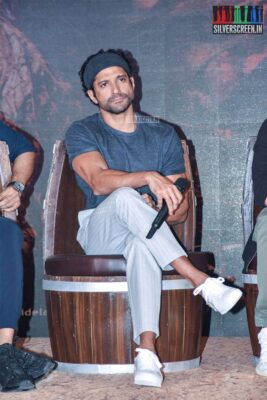 Farhan Akhtar At The 'Sye Raa Narasimha Reddy' Teaser Launch