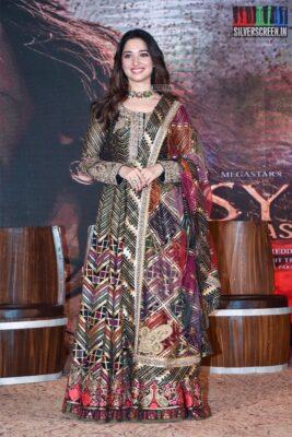 Tamannaah At The 'Sye Raa Narasimha Reddy' Teaser Launch