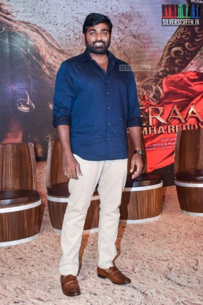 Vijay Sethupathi At The 'Sye Raa Narasimha Reddy' Teaser Launch