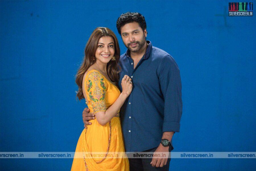 Comali Movie Stills Starring Jayam Ravi, Kajal Aggarwal