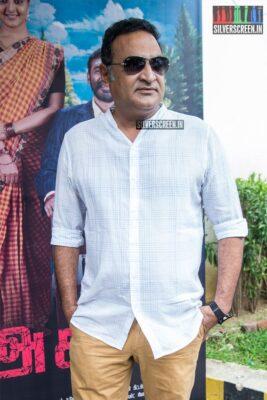 Aadukalam Naren At The 'Asuran' Audio Launch