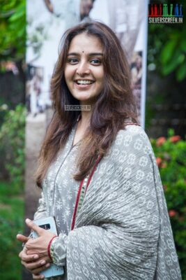 Manju Warrier At The 'Asuran' Audio Launch