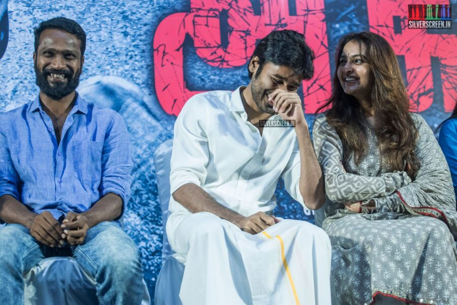 Dhanush. Vetrimaaran, Manju Warrier At The 'Asuran' Audio Launch