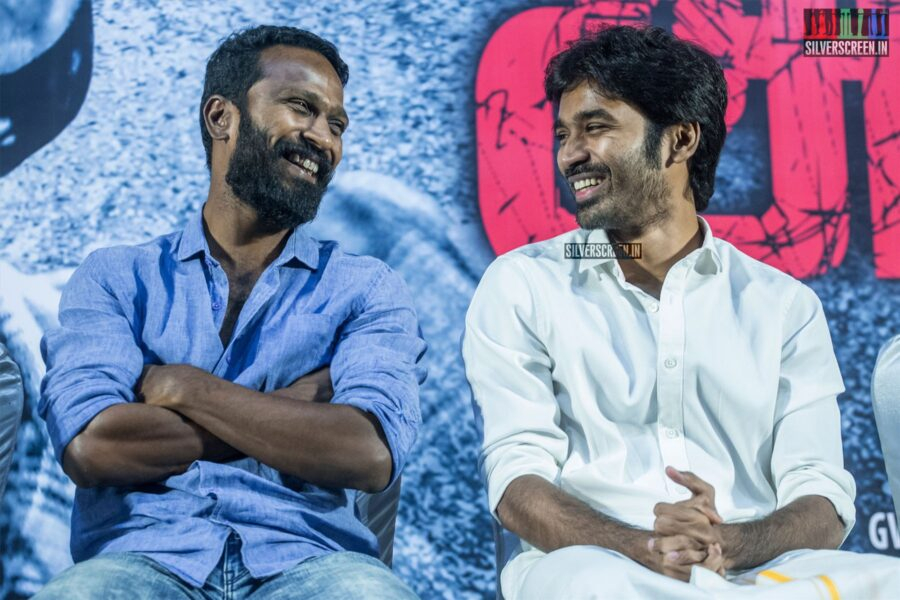 Dhanush Naren, Vetrimaaran At The 'Asuran' Audio Launch